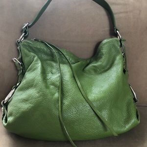 BR Slouchy Leather Hobo Bag
